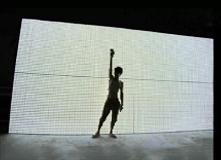 广州市金丽阳光电科技有限公司大型广告灯箱3X6米折叠式LED灯板
