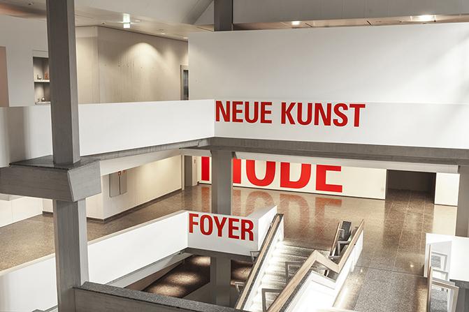 趣味标识带你享受博物馆的艺术氛围