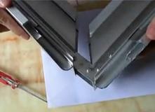 广州市金丽阳光电科技有限公司拉布灯箱铝材及拼角