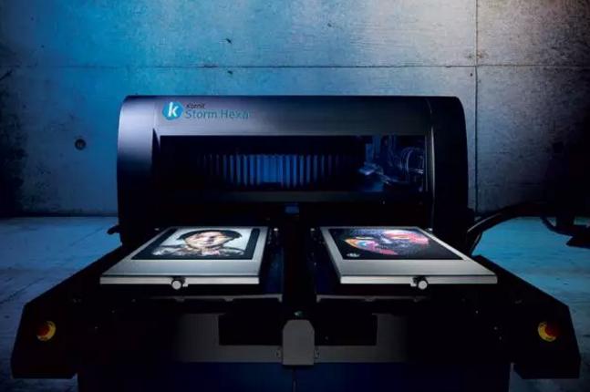 康丽Storm 1000,Storm Hexa—创新科技的成衣数码印花系统