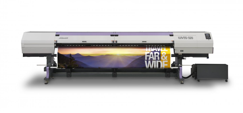 美国Mimaki 发布 UJV55-320 超宽幅UV- LED喷印机