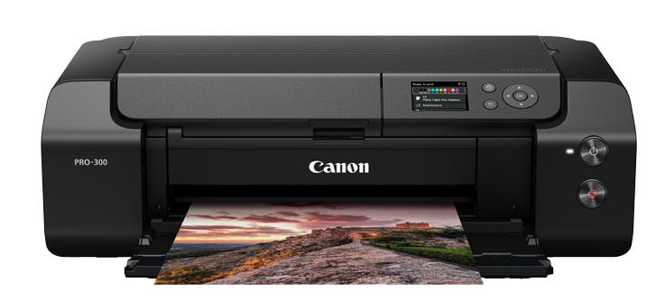 佳能推出新品喷墨照片打印机Pro-300