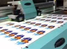 绘迪酷美UV-F2512平板打印机广告LOGO