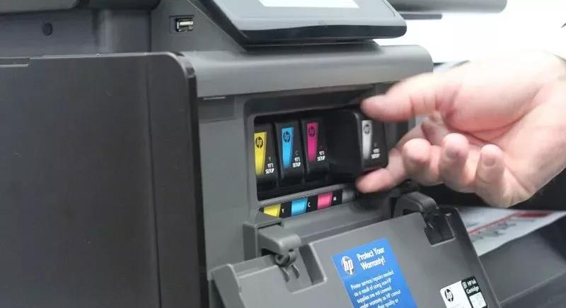 喷墨打印机三巨头的喷墨打印技术原理