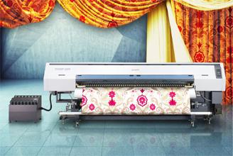 织物打印全方位升华