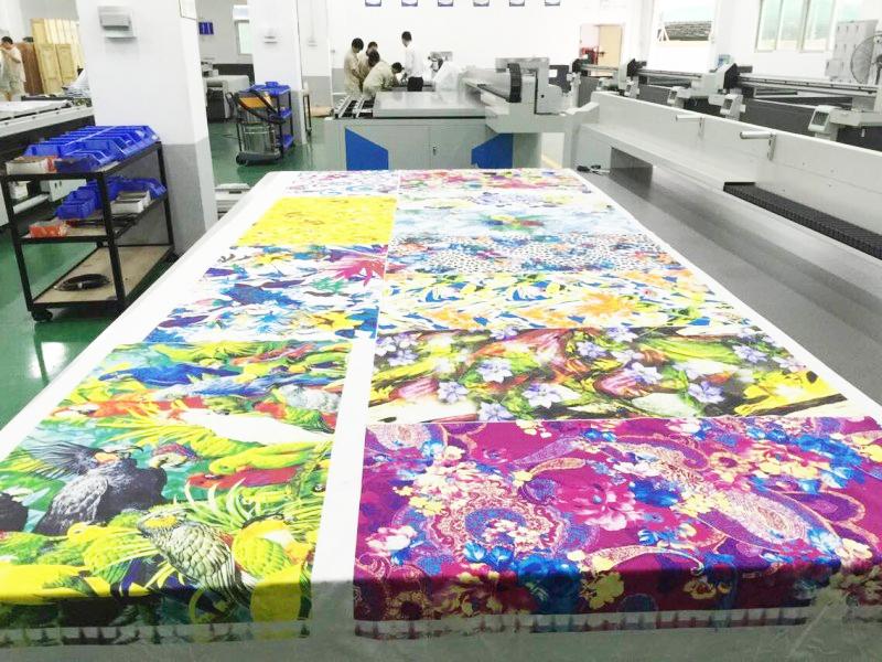 打印纺织品预计将有每年20%的高速增长