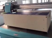 绘迪酷美UV-F2512平板打印机打印铁板箱